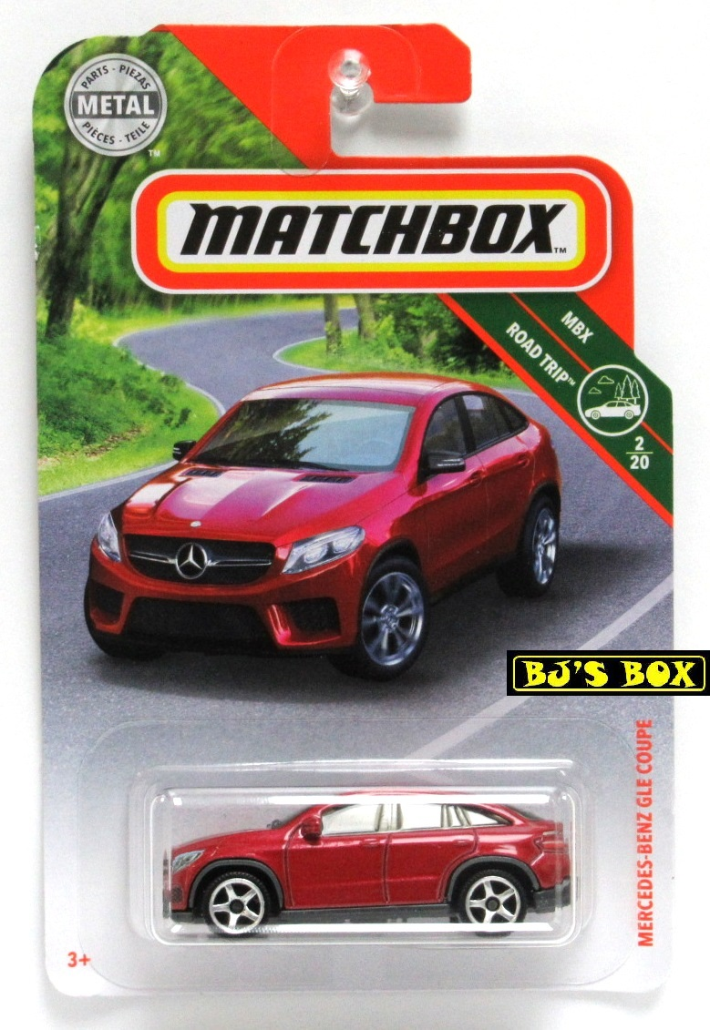 Matchbox Mercedes-Benz GLE Coupe red