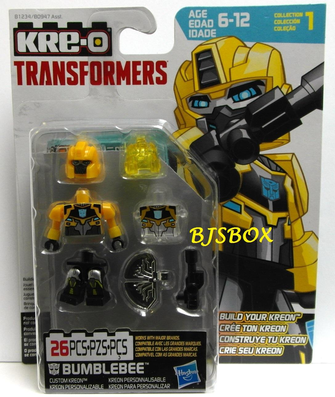 Kre O Transformers Bumblebee Custom Kreon Figure 26 Pcs Collection
